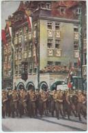 GUERRE DE 39-45-DEFILE A NUREMBERG - Guerra 1939-45