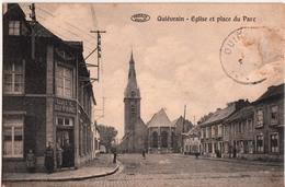 QUIEVRAIN-EGLISE ET PLACE DU PARC - Quiévrain