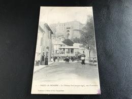 1 - SUZE LA ROUSSE Le Chateau Fort (moyen Age) Vue D'ensemble - 1904 Timbrée - Sonstige Gemeinden