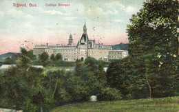 Rigaud Que Collège Bourget Colorisée RV Beau Timbre 2 Canada - Quebec