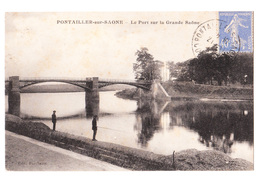 21 - PONTAILLER -sur- SAÔNE - Le Port Sur La Grande Saône - France