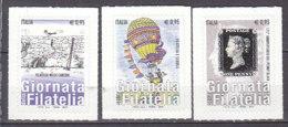 PGL DE0336 - ITALIA REPUBBLICA 2015 SASSONE N°3636/38 ** - 6. 1946-.. Repubblica