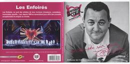 COLLECTOR  LES RESTAURANTS  DU  COEUR  /  COLUCHE - Frankrijk