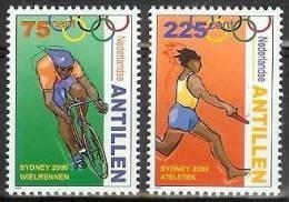 Mej1320 SPORT OLYMPISCHE SPELEN FIETS WIELRENNER BICYCLE OLYMPIC GAMES SYDNEY NEDERLANDSE ANTILLEN 2000 PF/MNH - Zomer 2000: Sydney