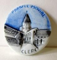 Feve Brillante Plate -Clerc - Paray-le-Monial - Autres
