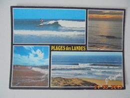 Visage Des Landes. Plages Des Landes. Beaute De La Cote Aquitaine. Vignes Postmarked 1988. - France