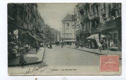 CPA 76 /  DIEPPE  La Grande Rue Très Animée  A  VOIR   !!!! - Dieppe