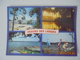 Visage Des Landes. Images Des Landes. Baignade, Sport, Promenades En Bateau Sur Nos Etangs. Vignes 1741 Dated 1987. - France