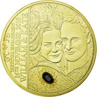 United Kingdom , Médaille, William Et Kate, The Royal Engagement, FDC, Copper - Altri