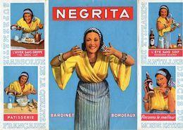 Affiche Dépliant Publicitaire - Rhum Négrita Bardinet Bordeaux - - Rhum
