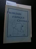 Problèmes D'Afrique Centrale N° 28 De 1955 : Congo, Mongos, P Bolya, G Brausch, - History