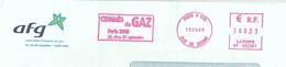 Ema Pitney Bowes BP - Congrès Du Gaz - Enveloppe Entière - Gaz