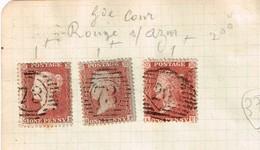 Lot Grande-Bretagne Anciens Timbres à Identifier - Stamps