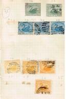 Lot Australie Anciens Timbres à Identifier - Stamps