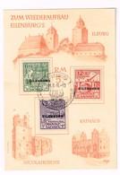Lot Wiederaufbau Eilenburg - Stamps