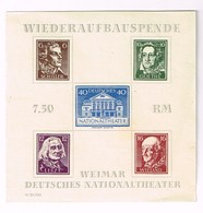 Lot Wiederaufbauspende - Stamps