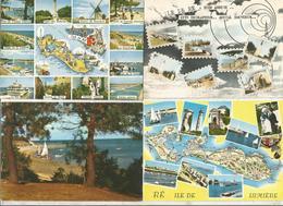 Cp , 17, ILE D RE ,  LOT DE 7 CARTES POSTALES - 5 - 99 Postcards