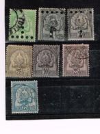 Lot Tunésie Anciens Timbres Fiscaux à Identifier - Stamps
