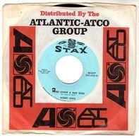Disque De Albert King - Born Under A Bad Sign - Stax 45.217 - 1967 - - Blues