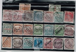 Lot Hongrie Anciens Timbres à Identifier - Stamps