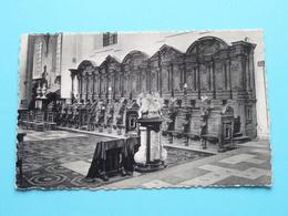 O.L.V Kerk : Koorgestoelte 1636 ( Huis Avoux ) Anno 19?? ( Zie Foto's ) ! - Ninove