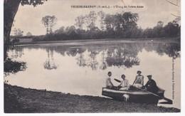 28 Eure Et Loir -  THIRON-GARDAIS - L'Etang De Sainte-Anne - Barque - Autres Communes