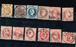 Lot Autriche Anciens Timbres à Identifier - Stamps