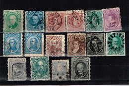 Lot Argentine Anciens Timbres à Identifier - Stamps