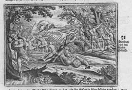 David Erleget Den Riesen Goliath - David Goliath Goliat Giant Riese Antike Antiquity Kupferstich Antique Print - Stiche & Gravuren
