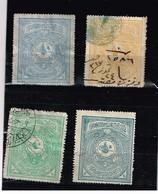 Lot Turquie Anciens Timbres Fiscaux  à Identifier - Collections (sans Albums)