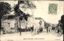 Cp Mery Sur Oise Val-de-Oise, Grille Du Château - Frankreich