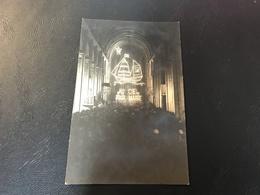Carte Photo BESANÇON Interieur De La Cathedrale «AU CIEL PAR MARIE» 1926 - Besancon