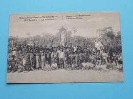 """Nieuw Antwerpen - De Missiepost / La Mission """" Kinderen Der Bewaarschool """" ( Scheut (Kongo) ) Anno 19?? ( Zie Foto's ) ! - Missions"""