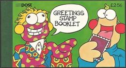 1996 Ireland Greetings: Comics Characters Zig And Zag Complete Booklet (** / MNH / UMM) - Comics