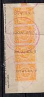 Lot Mexique Anciens Timbres Fiscaux Locaux à Identifier - Stamps