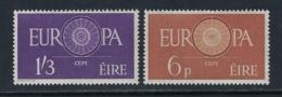 IRELAND 1960 EUROPA Nº 146/147 - Nuevos