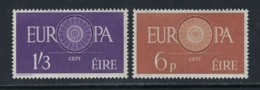 IRELAND 1960 EUROPA Nº 146/147 - 1949-... República Irlandése