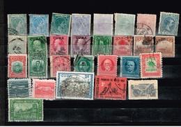 Lot Cuba Anciens Timbres  à Identifier - Stamps