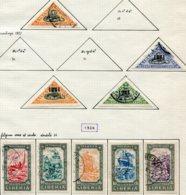 13014 LIBERIA  Lettres Chargées  N°28, 32/4, 35/9  °/ *  1921-24   B/TB - Liberia