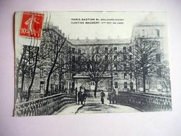 CPA 75 PARIS BASTION CANTINE MAUGERY 5 EME REGIMENT DE LIGNE - Distrito: 05