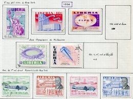 13012 LIBERIA  PA 97, 99/100, 101/2, 104/7, 108/9, 117, 139    °/ *  1956-63   B/TB - Liberia