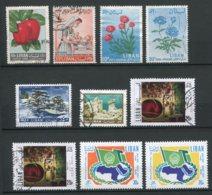 13003 LIBAN  PA 271, 286, 297/8, 343, 393, 518/9, 528 °/ *  1962-71   B/TB - Liban