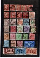 Lot  Grande-Bretagne Anciens Timbres à Identifier - Postzegels