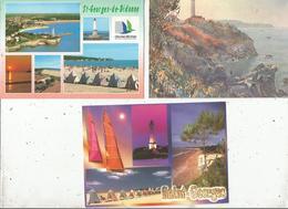 Cp , 17,  SAINT GEORGES DE DIDONNE , 2 Scans ,  LOT DE 5 CARTES POSTALES - 5 - 99 Postcards