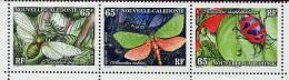 Nelle Calédonie ** N° 731 à 733 Se Tenant - Mouche, Papillon, Coléoptère - - Schmetterlinge