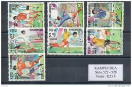 Kampuchéa.  Coupe Du Monde De Football 1986 - Kampuchea