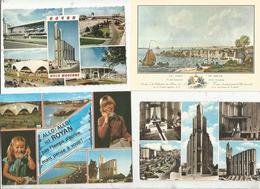 Cp , 17,  ROYAN , 3 Scans ,  LOT DE 11 CARTES POSTALES - 5 - 99 Postcards