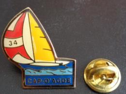 PIN'S CAP D'AGDE - Villes