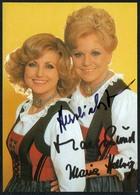 C5591 - Orig. Maria Und Margot Helbig - Autogramm Autogrammkarte - Autogramme & Autographen
