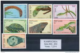 Kampuchéa. Reptiles - Kampuchea